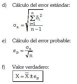 Pasos para calcular el valor de una magnitud 2