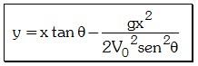 Ecuación de la Trayectoria del Movimiento Parabólico